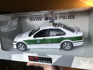 UT Models 1:18 Scale BMW M3 POLIZEI (GERMANY / BAVARIA)