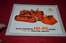 Allis Chalmers HD-9G Dealers Brochure BWPA ver11