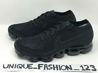 NIKE AIR VAPORMAX TRIPLE BLACK 2.0 UK 7 8 9 10 11 FLYKNIT WHITE 849558-011 OFF