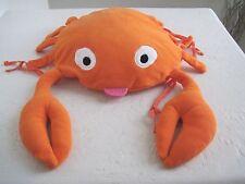 "Sea Plush ORANGE CRAB 15"" Ocean Plush Stuffed"