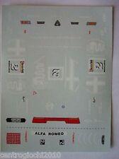 DECALS KIT 1/43 ALFA ROMEO 155 D2 CAMPIONATO ITALIANO TURISMO 1993