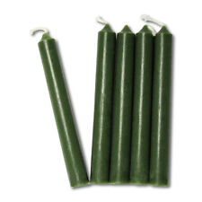 Pine Green Chime Candles- Lot of 20 - Wiccan Pagan Magical Ritual Supplies