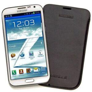 Samsung Pouch - To Suit Samsung Galaxy Note II - Dark Brown