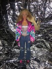 Mattel Barbie Doll Blonde Hair Blue Eyes Fully Clothed Marked 1998 1999