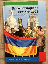Schach Olympiade Dresden 2008 mit DVD  New in Chess  Topalov Gelfand Aronian
