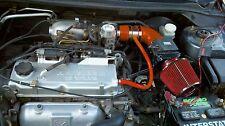 BCP RED 02-07 Mitsubishi Lancer 2.0L L4 Short Ram Air Intake + Filter
