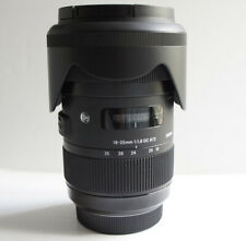 Sigma 18-35mm f/1.8 DC HSM Art Lens for Sony A-Mount See Description