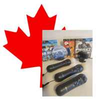 🧨Sony Playstation move bundle!🧨 Controllers & Games & Camera 🧨