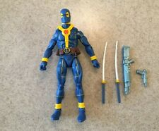Marvel Legends Strong Guy BAF Wave Blue Deadpool Action Figure Loose