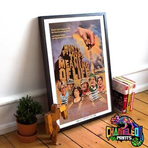 Monty Python's the Meaning Of Life Print A4 A3