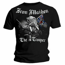 Iron Maiden Unisex Tee Sketched Trooper (back Print) - Small Imtee22mb01