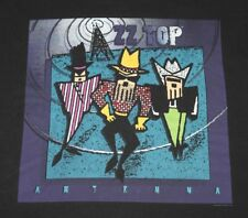 L * vtg 90s 1994 Zz Top Antenna tour t shirt * 71.148