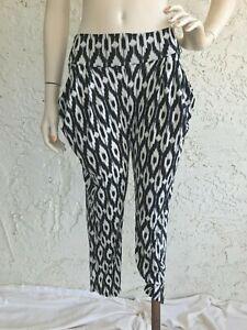 POETRY Ikat Print Stretch Skinny Pants Size L