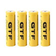 4pcs 3.7V 18650 9800mAh Li-ion Rechargeable Battery For Flashlight Torch OE