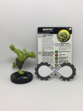 Heroclix - Maestro 056 - The Mighty Thor - Super Rare W/ Card