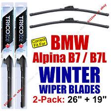 WINTER Wiper Blades 2-Pk Premium - fit 2011+ BMW Alpina B7 & B7L - 35260/190