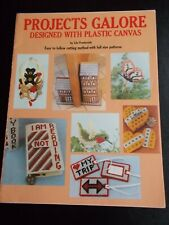 Projects Galore Designed With Plastic Canvas Book ~ 1984 ~ 17 pages