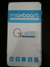 Maxboost iPhone 5S Screen Protector tempered Glass Thinnest Ballistics