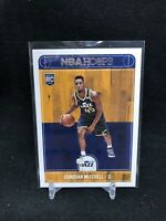 DONOVAN MITCHELL RC  2017-18 Panini NBA Hoops #263 UTAH JAZZ Rookie Card Z72