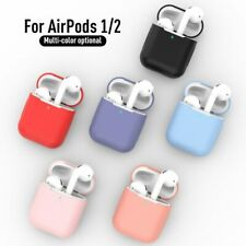 Silicone Earphone Case Air pods Case Shockproof Bluetooth Protective Cover Skin