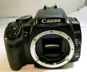 Canon EOS Digital Rebel XTi / EOS 400D (Body Only) 10MP AS IS for parts - NO AF