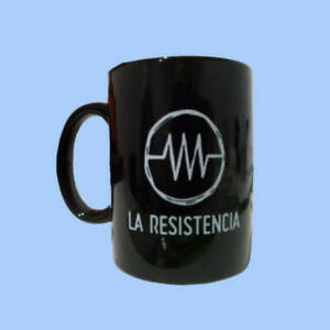 Taza negra - LA RESISTENCIA