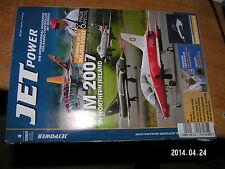 Jet Power en anglais 4/2007 Easyjet A380-900 Tiger Jet Mig-29 X-36 X-45 X-47