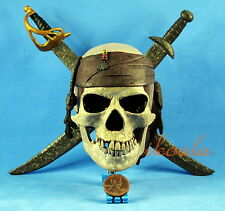 A380 PIRATES OF THE CARIBBEAN JACK SPARROW Logo Display Decor Ornament Model