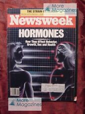 NEWSWEEK January 12 1987 Jan 1/12/87 HORMONES TIANANMEN SQUARE +++