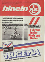 BL 88/89 1. FC Kaiserslautern - Karlsruher SC