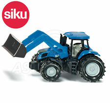 SIKU NO.1355 NEW HOLLAND BLUE TRACTOR WITH FRONT LOADER Dicast Model / Toy