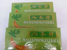 Panax Ginseng Extract Oral Liquid 3 Boxes 30 Vials  Herbin China UK Seller