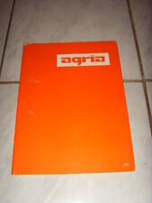Agria Prospekt- / Aktenmappe für DIN A4- Unterlagen, orig. hist.