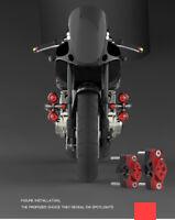 Motorcycle Spotlights Bracket Bumper Fixture Handlebar Stent Aluminum Alloy 32MM