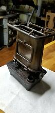 1898 Antique Cast Iron Oil Stove manufactured by Climax Mfg Co Chicago Ill C Pix
