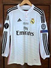 Real Madrid Ronaldo 2014 UEFA CHL Super Cup Adizero player version home jersey
