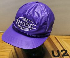 DAVIS INDUSTRIAL PRODUCTS OREGON HAT PURPLE SNAPBACK ADJUSTABLE VGC        U2