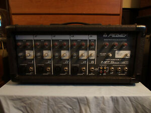 Peavey MP 5+ 150 Watt 5 Channel Mixer Amplifier PA Guitar