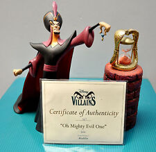"""WDCC """"Aladdin"""" Villains Collection - Jafar """"Oh Mighty Evil One"""" Limited Edition"""
