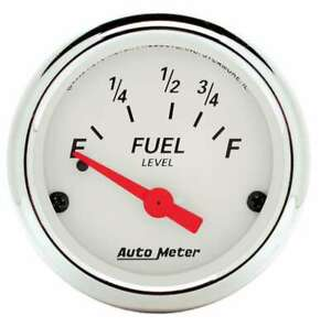 Auto Meter 2-1/16 A/W Fuel Level Gauge - Ford