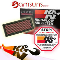 k&n Lavable Filtro deportivo DE AIRE CAMBIO Air Filter Kn 33-2945