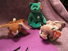 CANYON, EARS, AND ERIN  BEANIE BABIES