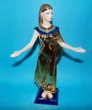 Franklin Mint Figurine ornament egyptian 'Selket'  goddess of magic 1st Quality