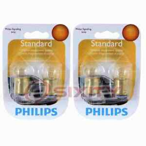 2 pc Philips Map Light Bulbs for Ford Country Sedan Country Squire Custom oh