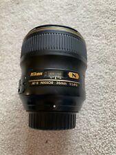 Nikon AF-S NIKKOR 35mm f/1.4G Lens (black)