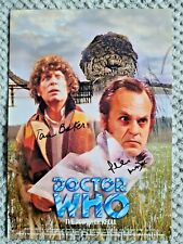 More details for dr/doctor who-  the power of kroll - signed pri nt - tom baker & phil madoc
