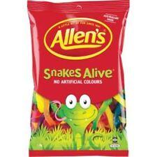 ALLENS LOLLIES SNAKES ALIVE - BIG 1.3 KG BAG!