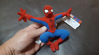 Spider-Man Original 2002 marvel Characters Movie Promo Plush Collectible NWT