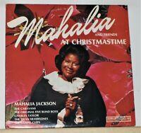 Mahalia Jackson & Friends - At Christmastime - 1973 Vinyl LP Record Album