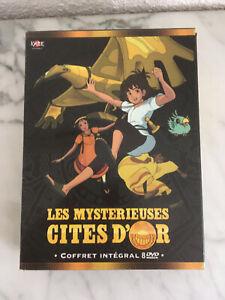 coffret dvd L'intégrale les mystérieuses cités d'or 39 episodes